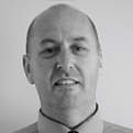 MGI World Paul Winder MGI UK & Ireland Area Coordinator black and white profile photo