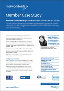 MGI Worldwide Case Study Image