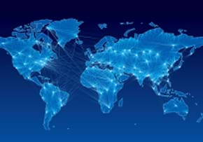 MGI World MGI Worldwide Global Accountancy Network Ranking, blue globe image with lights