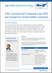UAE Commercial Law