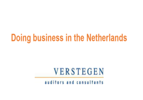 MGI World MGI Worldwide Doing Business in Netherlands by MGI Europe Area member Verstegen Auditors and Consultants May 2016