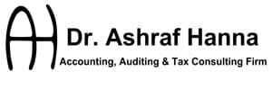 MGI World MGI Worldwide accounting network member, auditing and tax firm Dr. Ashraf Hanna, Egypt, black and white firm logo