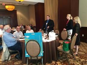 Maxine and others leading discussion image 2 2016 MGI North American Conference San Antonio, Texas