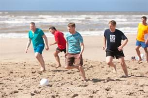 Football, free time activities, MGI European Area meeting 2016