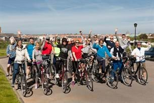 Cycling, free time activities, MGI European Area meeting 2016, cycling group image