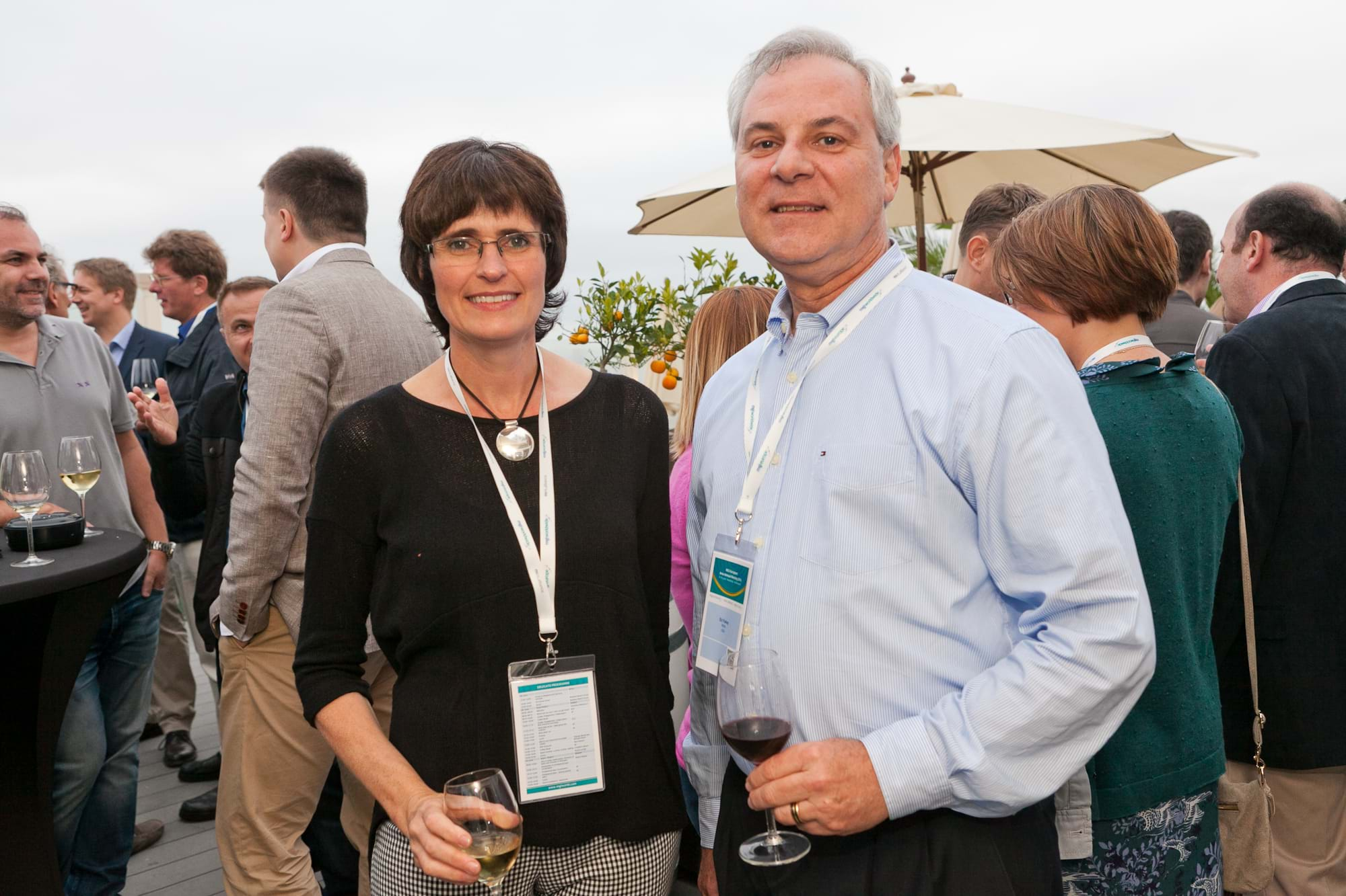 MGI World Delegates at beachside welcome drinks 12 MGI European Area Meeting, the Netherlands 2016