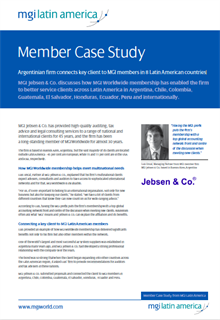 Full screen shot of front page of Case Study