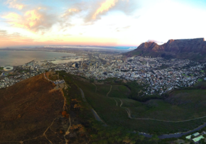 MGI World Aerial shot of Cape Town
