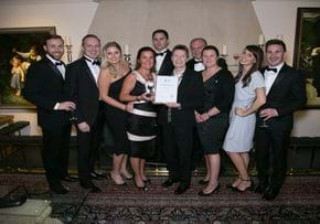 MGI World GI Worldwide accounting network member firm Group photo Rickard Luckin win Training firm of the year