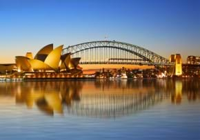 MGI World MGI Australasia Area image Sydney Opera house and Harbour Bridge 290x203