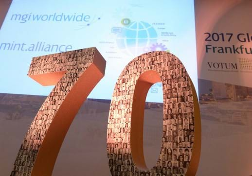 MGI World MGI Worldwide tax association AGM Frankfurt 70 years image 518x362