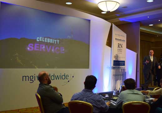 MGI World 5. celebrity client