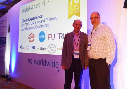 MGI World a Paul and Roger