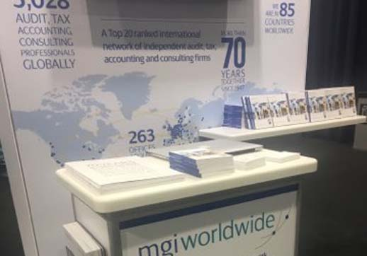 MGI World Stand 1