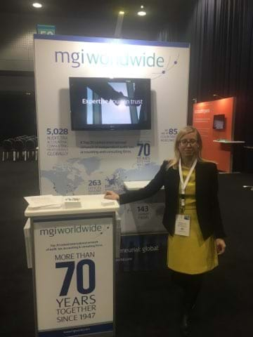 MGI World MGI Worldwide global network attends accountancy event Accountex North