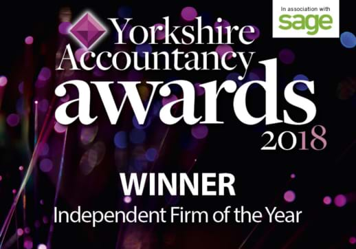 MGI World MGI Worldwide tax and audit network firm win Yorkshire accountancy award flyer
