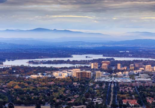 MGI World MGI Australasia accounting network region meeting venue Canberra cityscape image