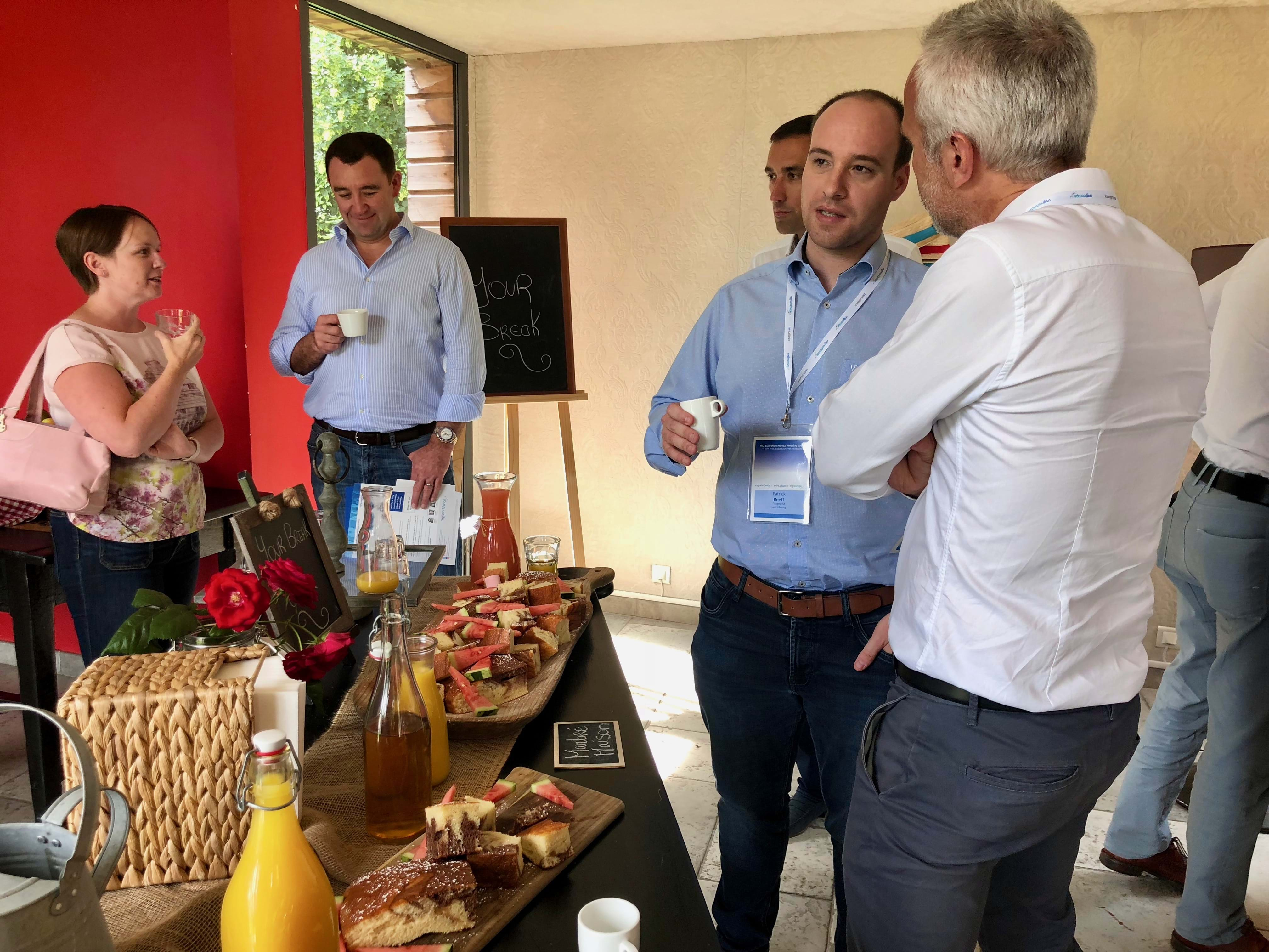 MGI World MGI Europe accounting network meeting - Coffee break 2