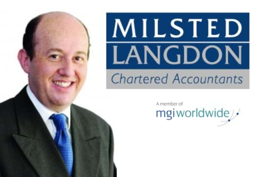 MGI World Profile picture of Roger Isaacs with Milsted Langdon and MGI Worldwide logos