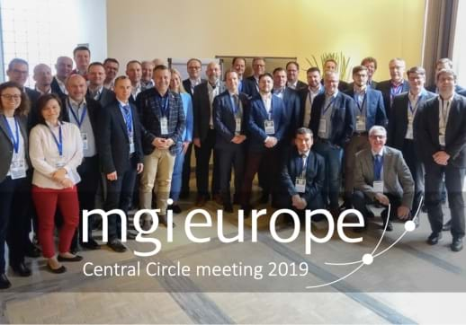 MGI World Central Circle meeting group picture