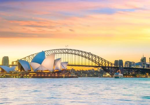 MGI World Sydney Harbour bridge image