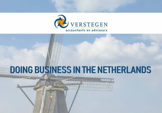 MGI World Image of Dutch windmill with Verstegen logo on top