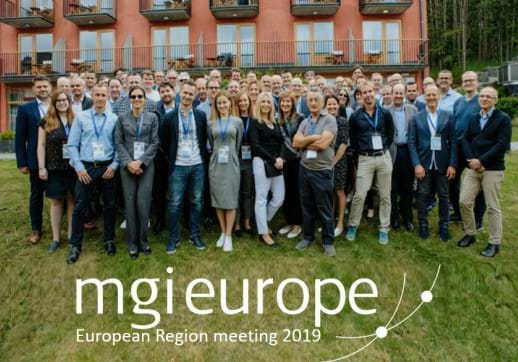 MGI World 2019 MGI European Region meeting group picture