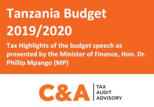 MGI World Screenshot of Cassian & Associates report on 2019/2020 Tanzanian Budget with logo overlaid