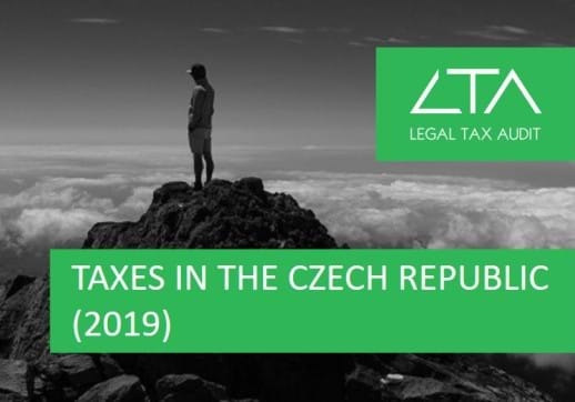 MGI World Screen shot of LTA Tax's paper on tax requirements in the Czech Republic
