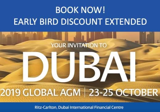MGI World AGM Early bird extended image