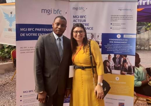 MGI World Nadia Yaichand Daddy from MGI Strong - DRC.