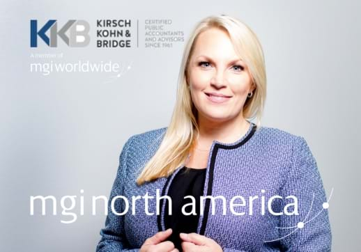MGI World Mia Lewicki new partner at KKB profile picture with logos 518x362