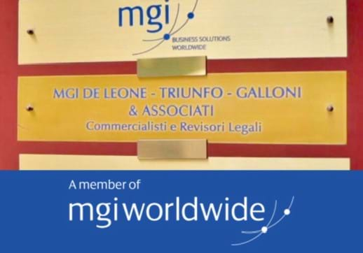 MGI World Print screen of MGI De Leone promotional video frame