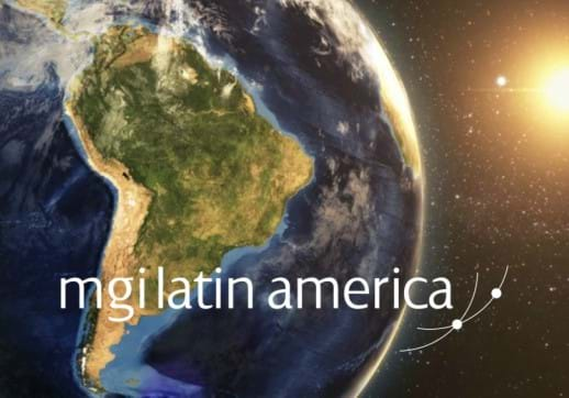 MGI World Image of Latin America map with MGI LA and IAB logos & tilte overlaid