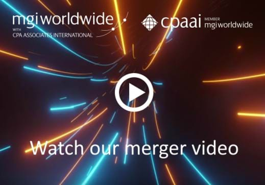 MGI World MGI Worldwide and CPAAI merger video thumbnail