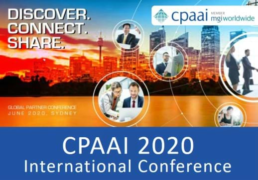 MGI World Banner image used for the CPAAI 2020 International Conference Sydney