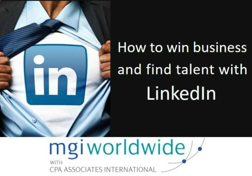 MGI World LinkedIn webinar image with MGI logo and title overlaid