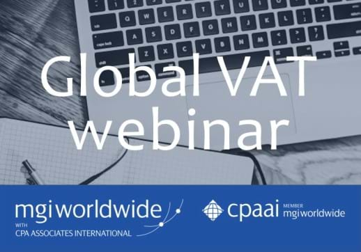Global VAT Webinar: Quick fixes in the EU: How important changes on the VAT Action Plan impact businesses from 1 January 2020