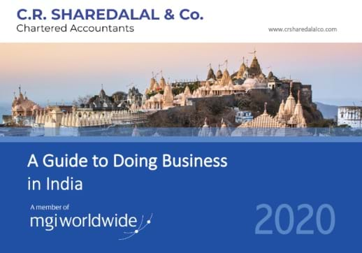 MGI World Doing Business in India cropped image of cover showing historic Indian buildings on hill
