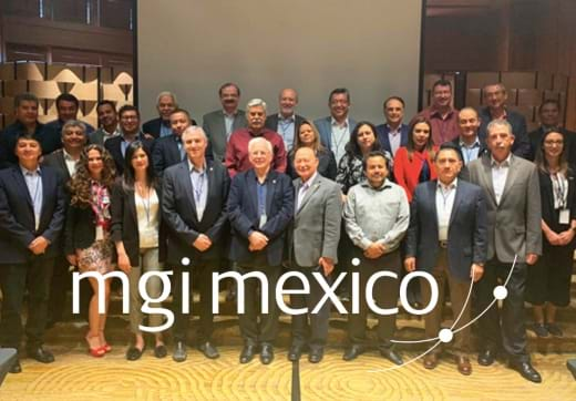 MGI World Group picture of delegates at the AGM Mexico