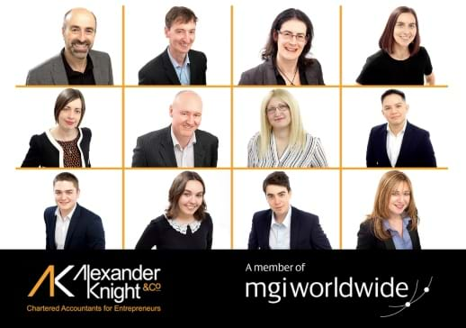 MGI World Montage of firm profile pictures for Alexander Knight