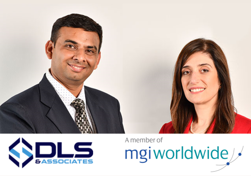 MGI World Picture of Sumit Dhadda and Emma Almansoori from DLS & Associates