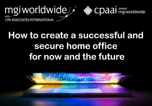 MGI World Laptop background with webinar title and MGI Worldwide and CPAAI logos overlaid