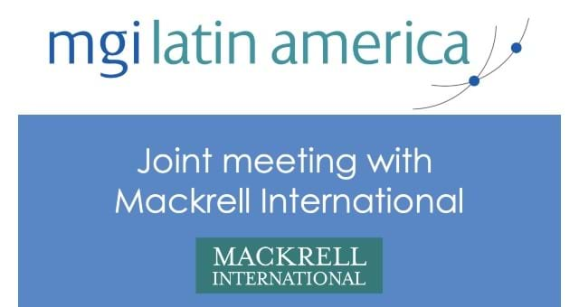 Latin America joint meeting with Mackrell International - in Spanish
