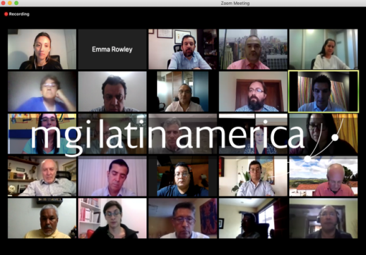 MGI World Zoom image of MGI Latin America Meeting