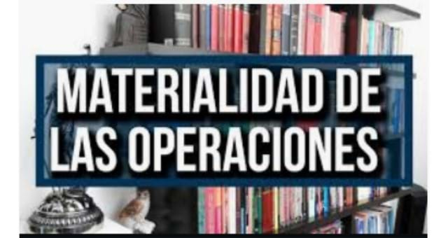 La materialidad de las operaciones 2020 - IN SPANISH