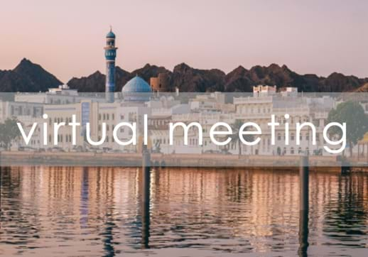 MGI World Muscat view of city on waterfront for MGI MENA Region 2020 accountancy network meeting venue Muscat Oman
