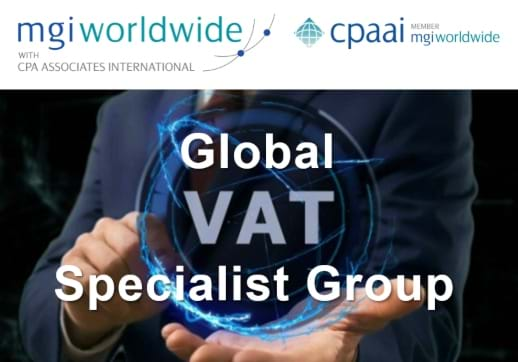 MGI World Global VAT Specialist Group image with MGI and CPAAI logos overlaid