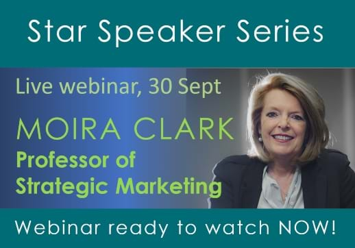MGI World Star Speaker layout for Moira Clark