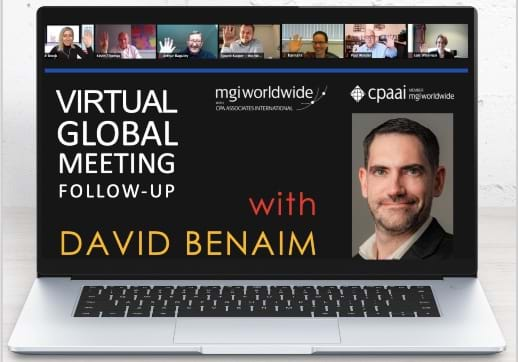 MGI World David Benaim Follow Up 518X362